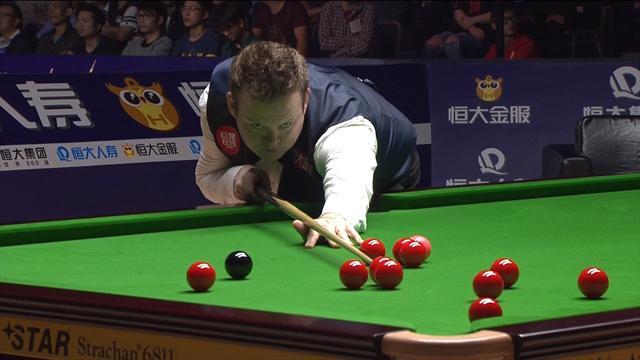 Murphy hits brilliant three-ball plant