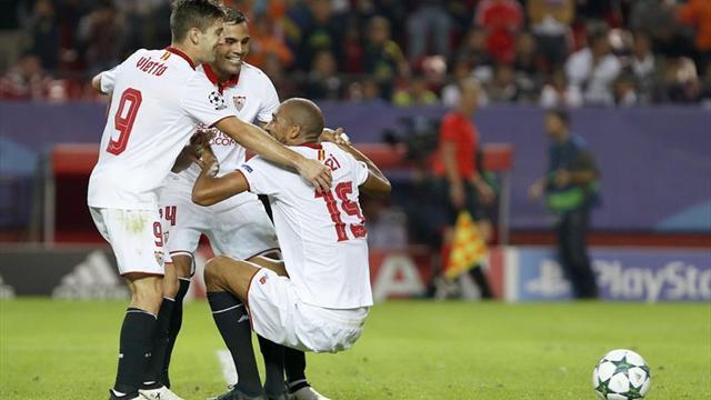El Sevilla de Jorge Sampaoli goleó y sigue imparable