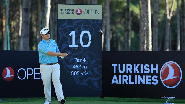 Turkish Airlines Open 2016'da ilk gün Coetzee zirvede