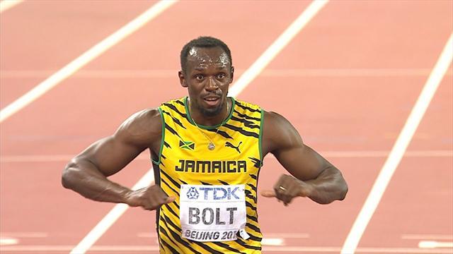 """Bolt ne veut pas """"prendre du bide"""" une fois retraité"""
