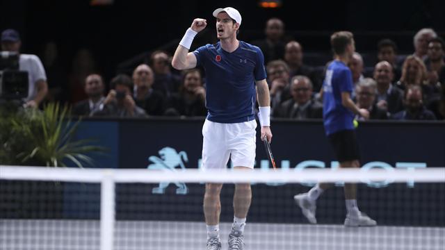 Paris-Bercy: Djokovic à la trappe