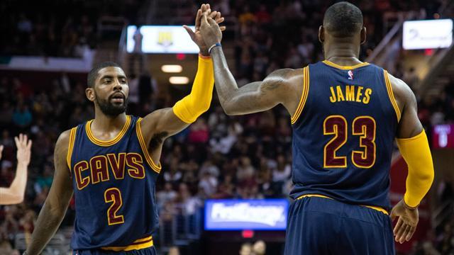 Irving'in ayrılığına LeBron'dan ilk yorum