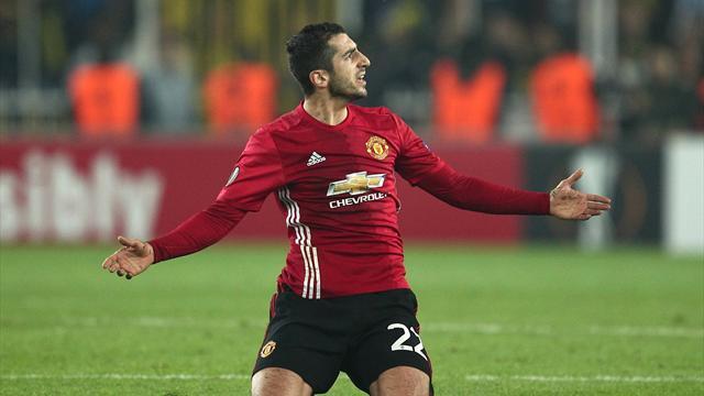 Мхитарян не несомненно поможет «Манчестер Юнайтед» впервом матче с«Ростовом»