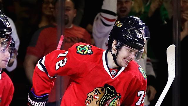 НХЛ: «Чикаго» уступил «Виннипегу», уАнисимова гол, уПанарина пас
