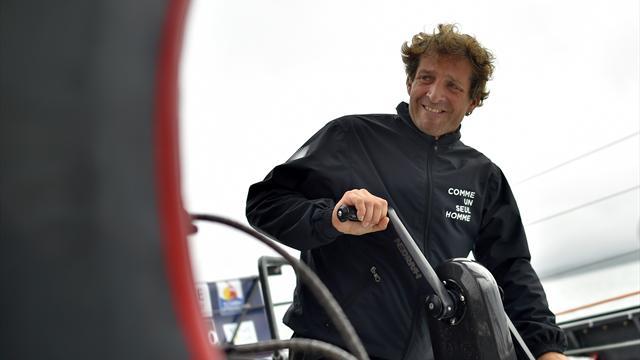 Vendée Globe - Éric Bellion (Commeunseulhomme) victime d'une avarie de safran