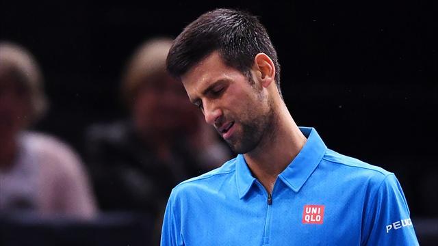 Masters de París, Djokovic-Cilic: Saltan las alarmas y peligra el nº 1 (4-6 y 6-7)