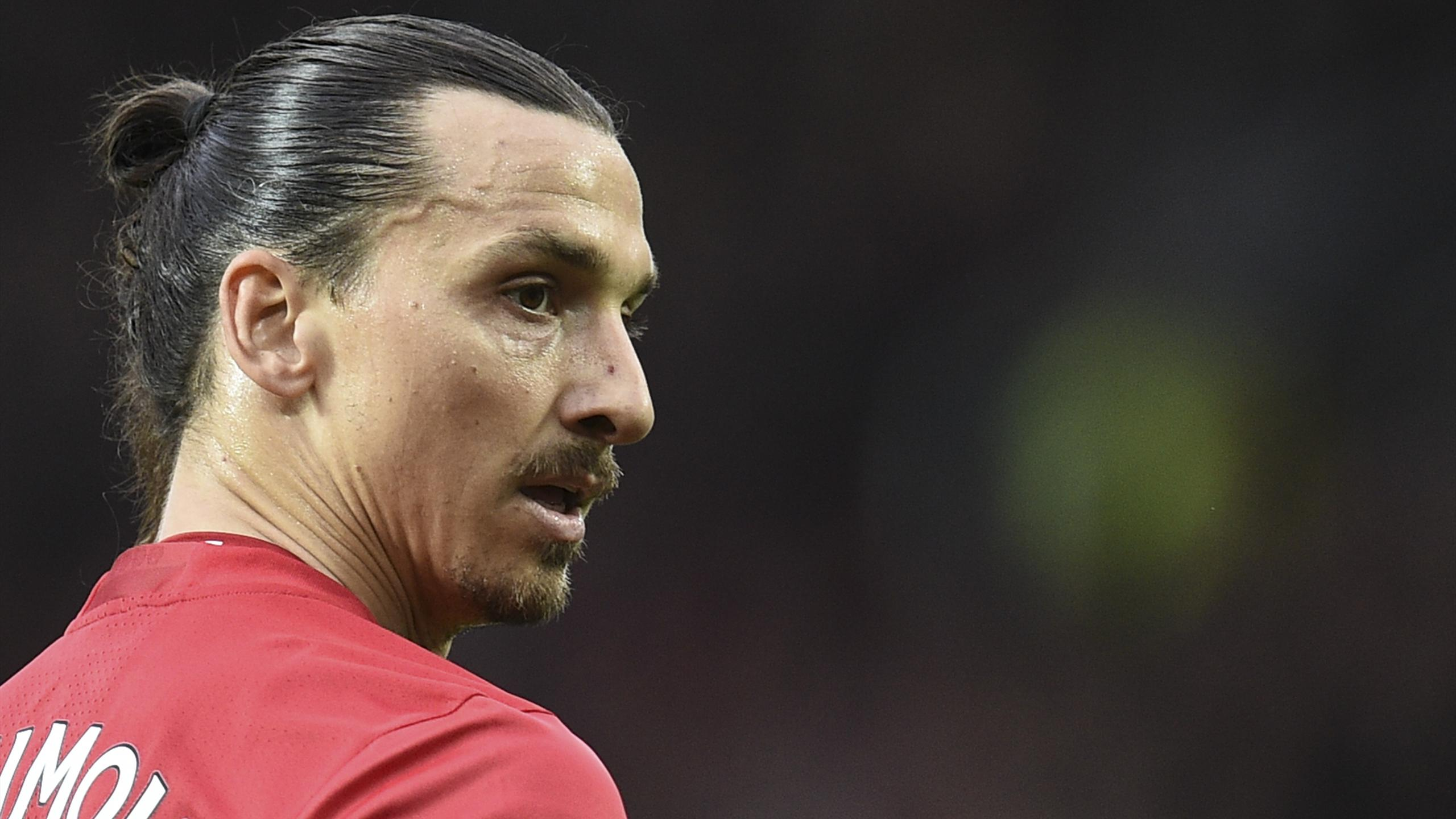 Manchester United's Swedish striker Zlatan Ibrahimovic