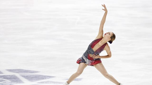 Погорилая выиграла этап Гран-при в Москве, Липницкая получила травму