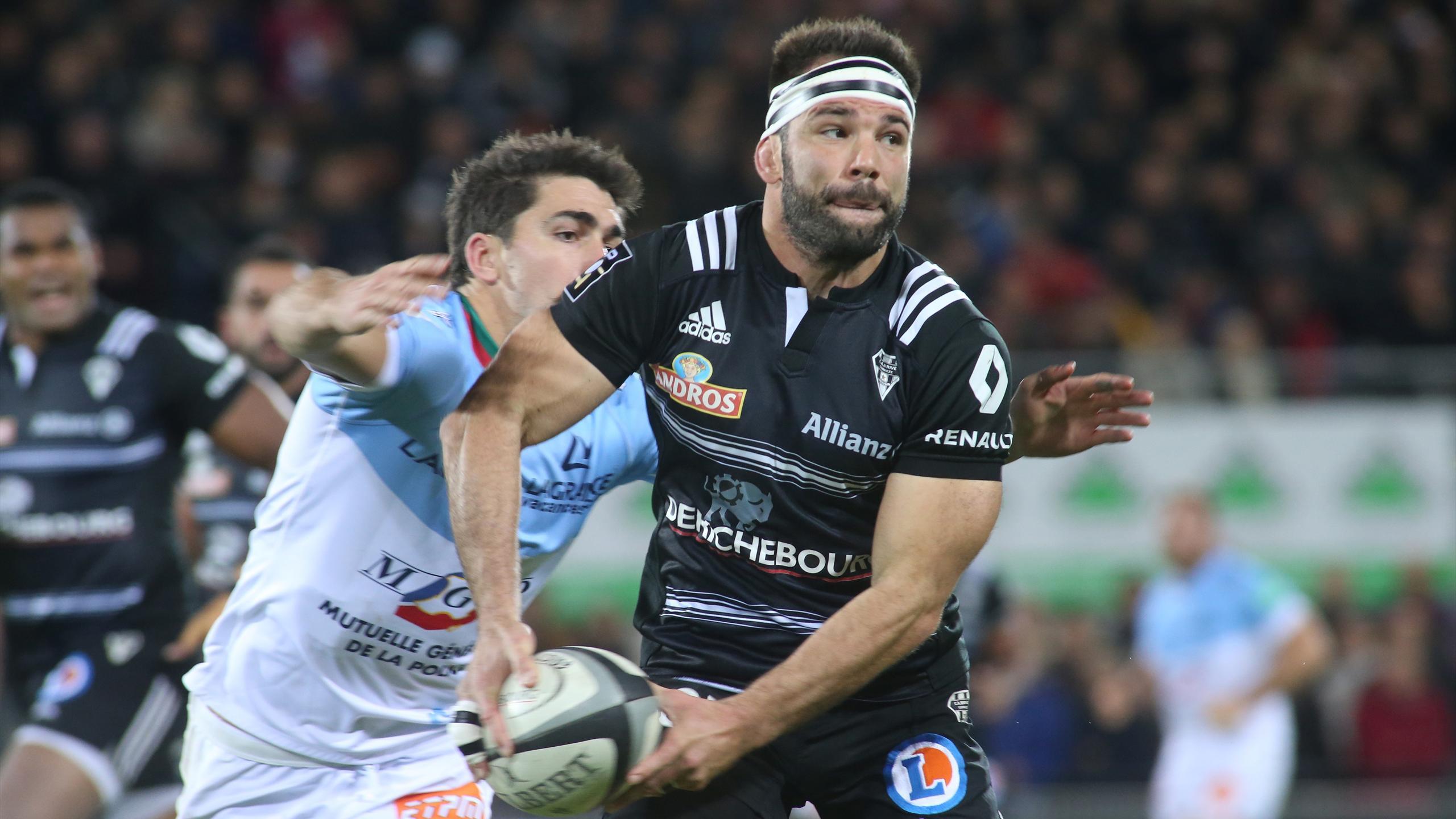 Arnaud Mignardi (Brive) face à Bayonne - 5 novembre 2016
