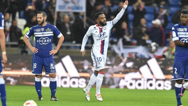 Lyon se replace, Guingamp revient de loin, Lille et Lorient plongent un peu plus