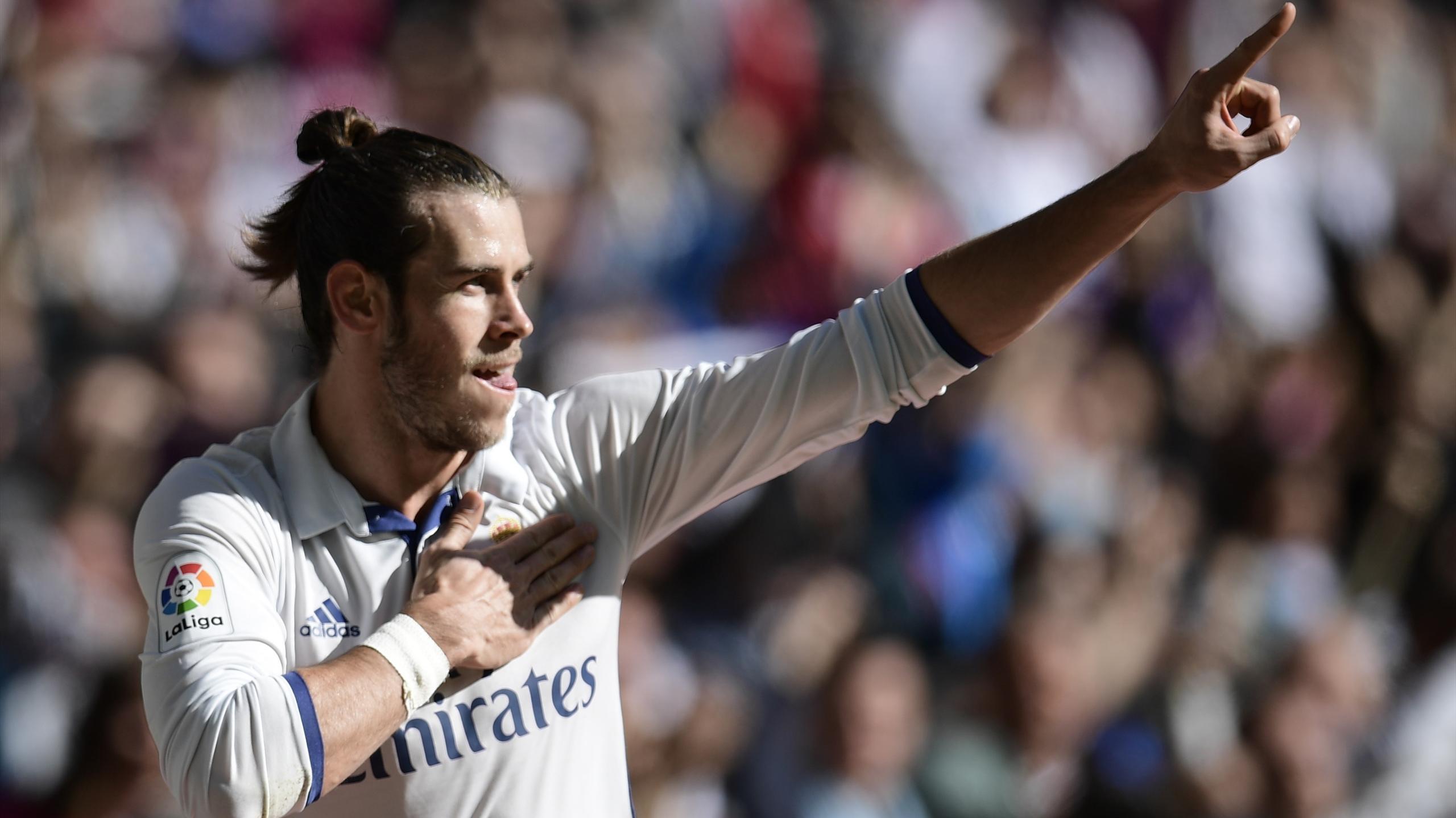 Gareth Bale avec le Real Madrid en 2016.