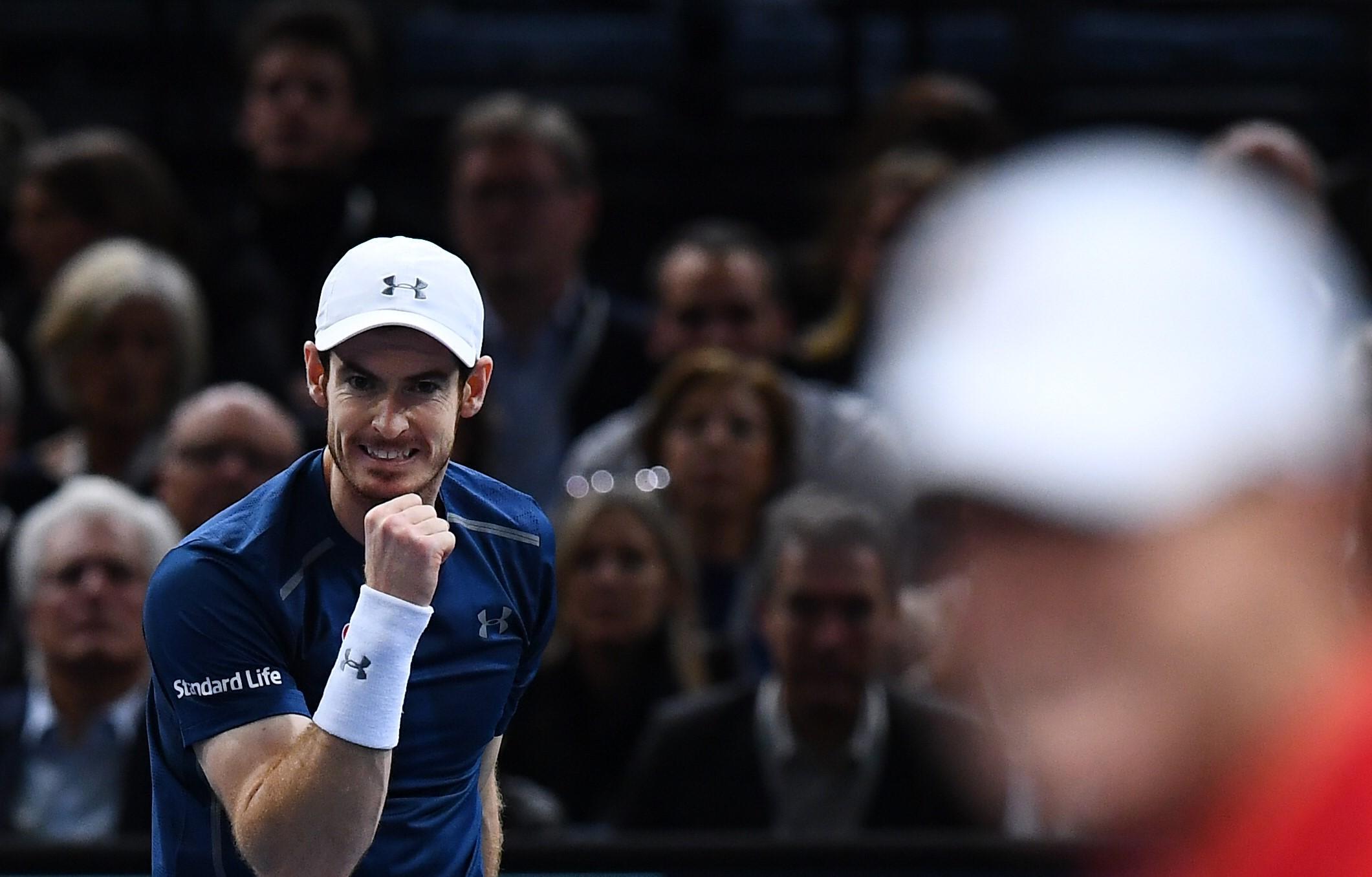 Andy Murray au Masters 1000 de Paris 2016