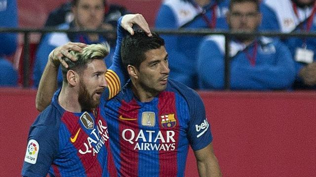 Avec Messi et Suarez, le Barça avait du répondant