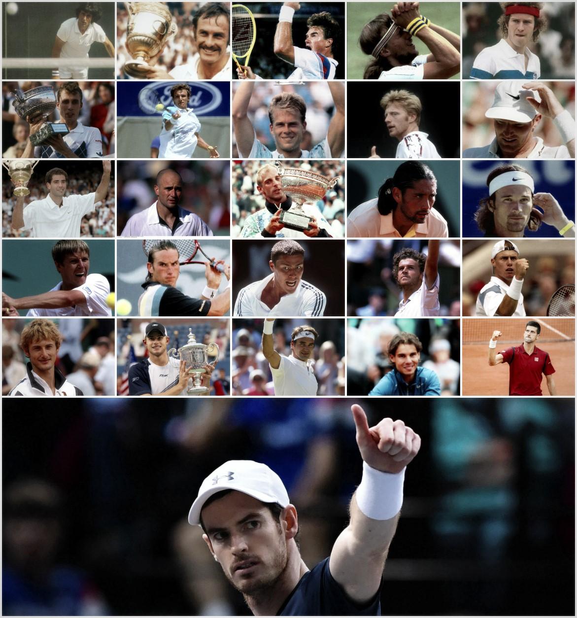 Les 26 joueurs à avoir été numéro 1 mondial - ATP