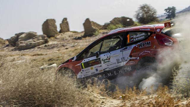 Lukyanuk repite triunfo en el Rally de Canarias