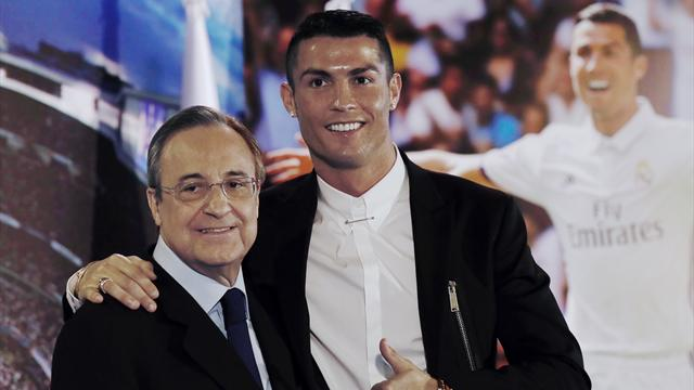 Florentino saca la cara por Cristiano y no contempla su salida del Madrid