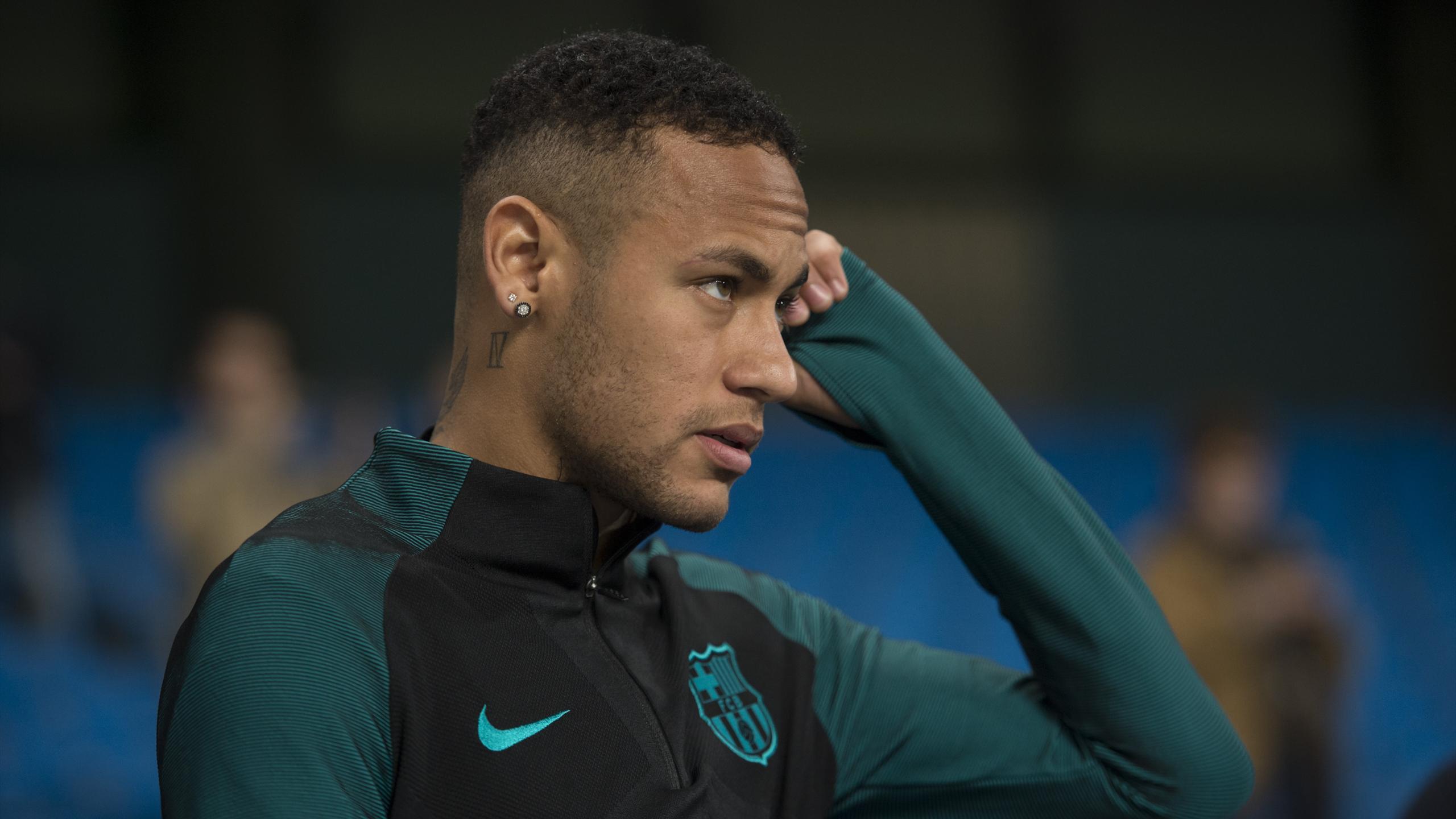 Barcelona's Brazilian forward Neymar