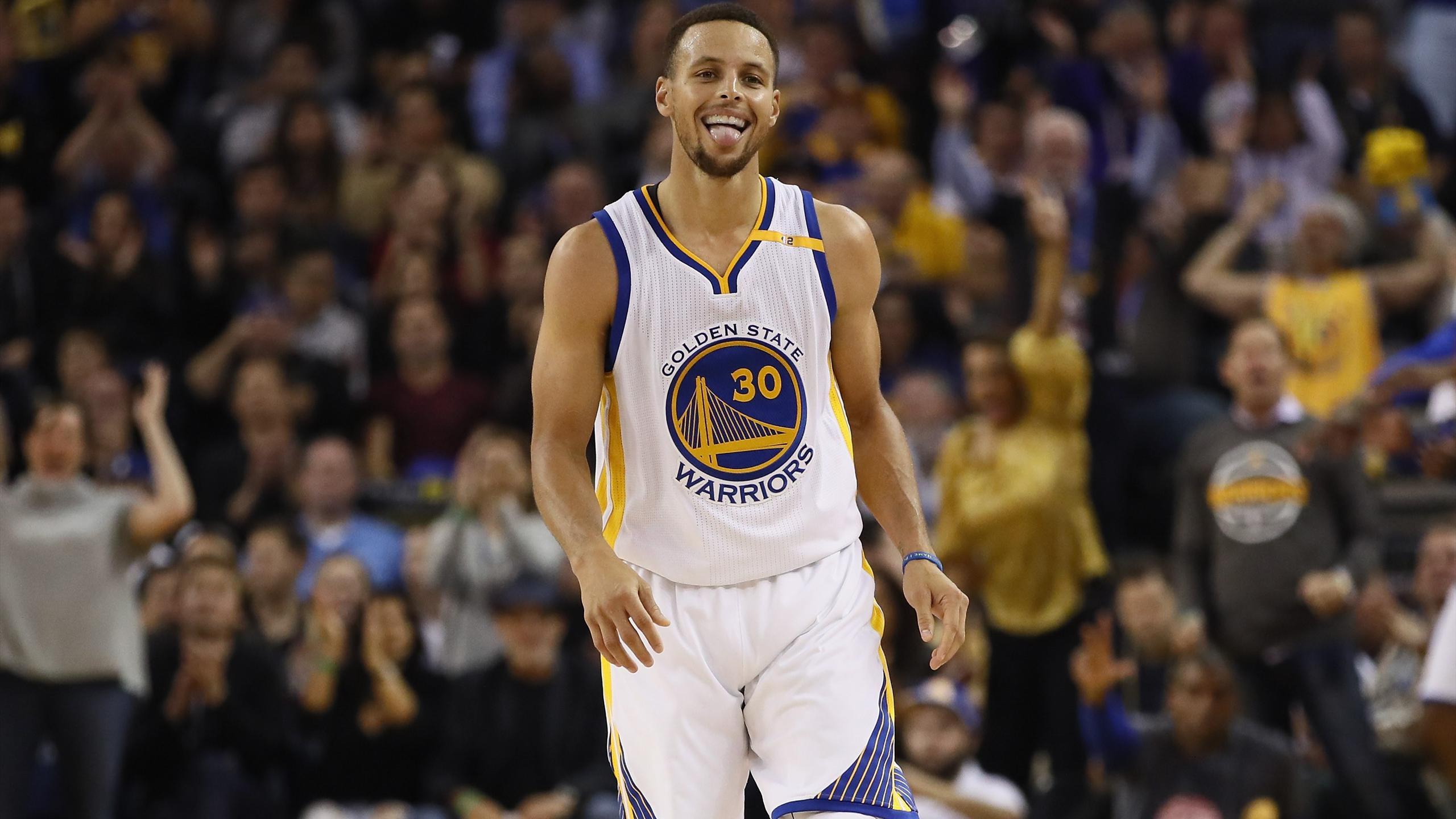 Stephen Curry avec Golden State - NBA 2016