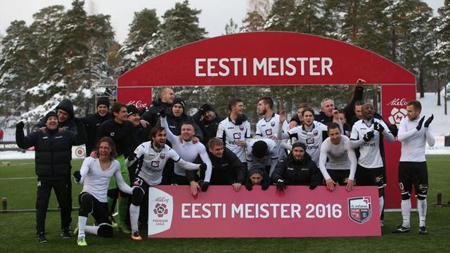 Le favole del calcio europeo: l'Infonet di Tallinn, campione d'Estonia