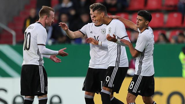 Machbare EM-Gruppe für deutsche U21