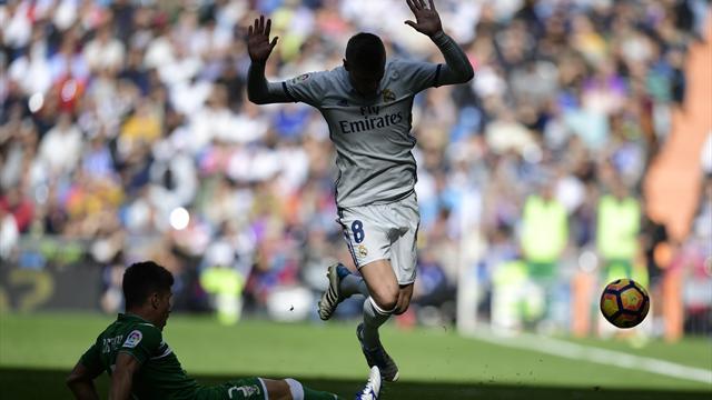 Футболист «Реала» Кроос пропустит из-за травмы дотрех месяцев