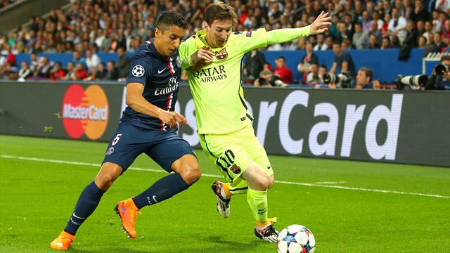 Marquinhos : «Quand vous jouez face à Messi, vous devez juste faire le match parfait»