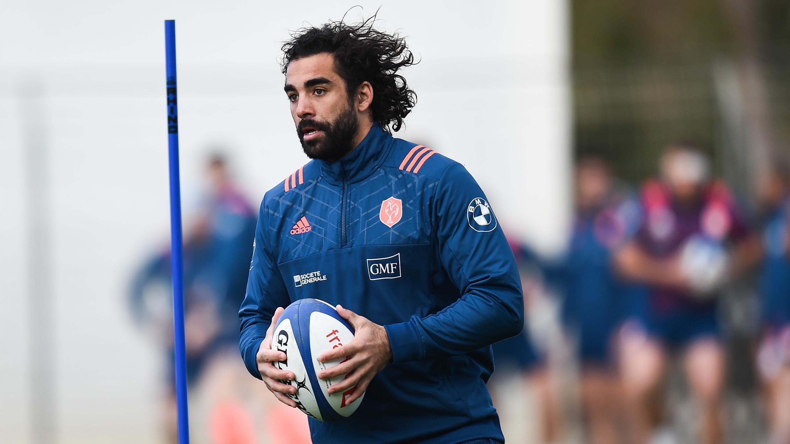Yoann Huget (XV de France) - 8 novembre 2016