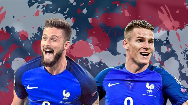 Débat : Deschamps doit-il choisir Giroud ou Gameiro ?