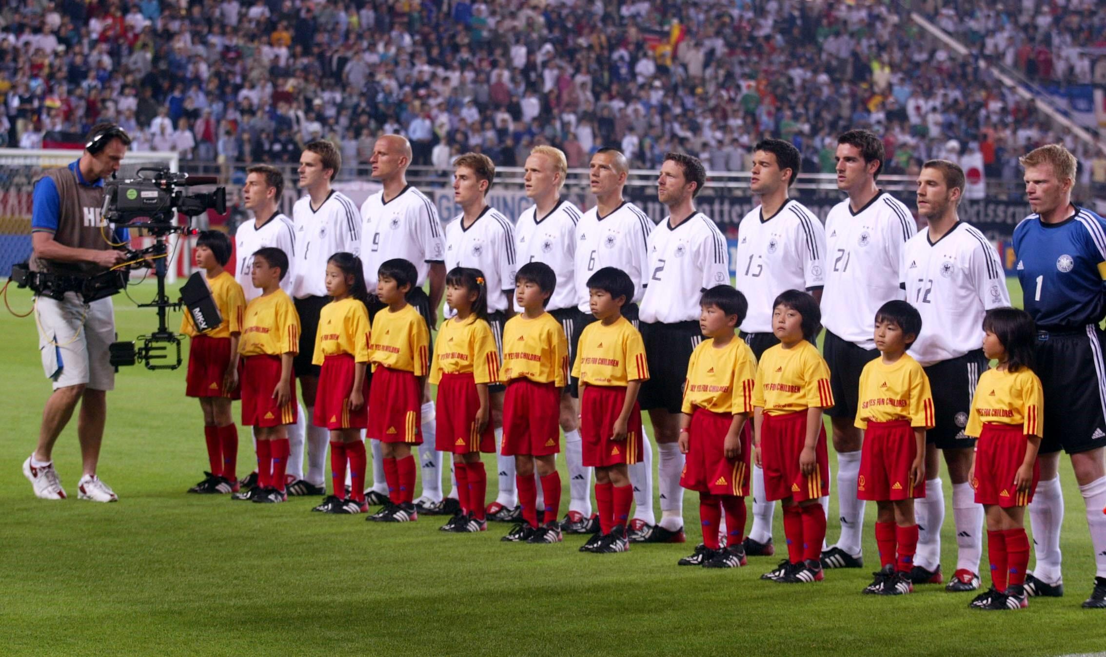 Germany 2002 (Klose, Kahn, Ballack)