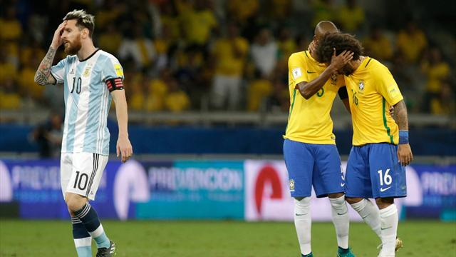 Brazil leave hapless Argentina's World Cup hopes in doubt
