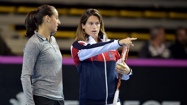 Tennis : Mauresmo, enceinte de son deuxième enfant, quitte son poste de capitaine