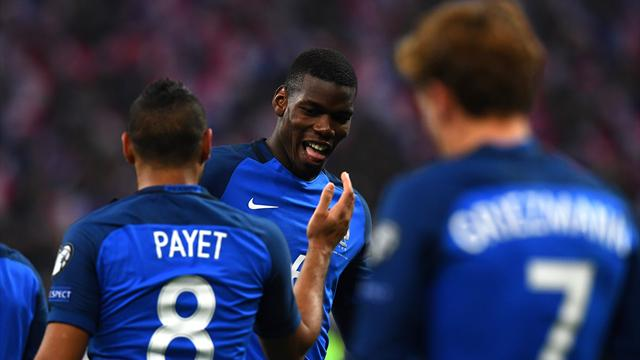 Pogba and Payet help France to win over Sweden