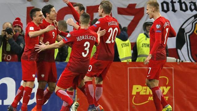 Guía Lewandowski a Polonia en triunfo ante Rumania