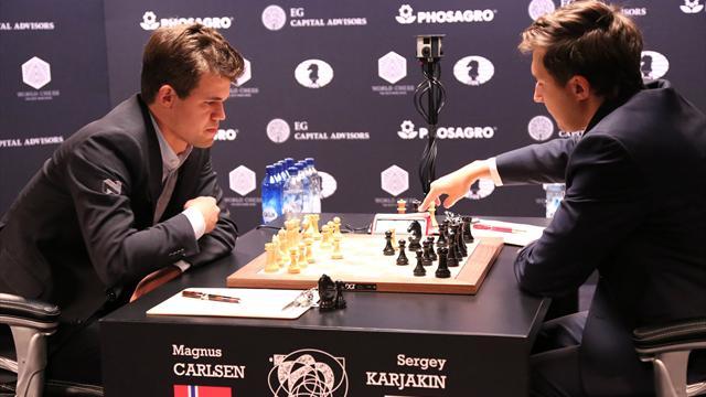Карлсен и Карякин сгоняли еще одну ничью на тай-брейке