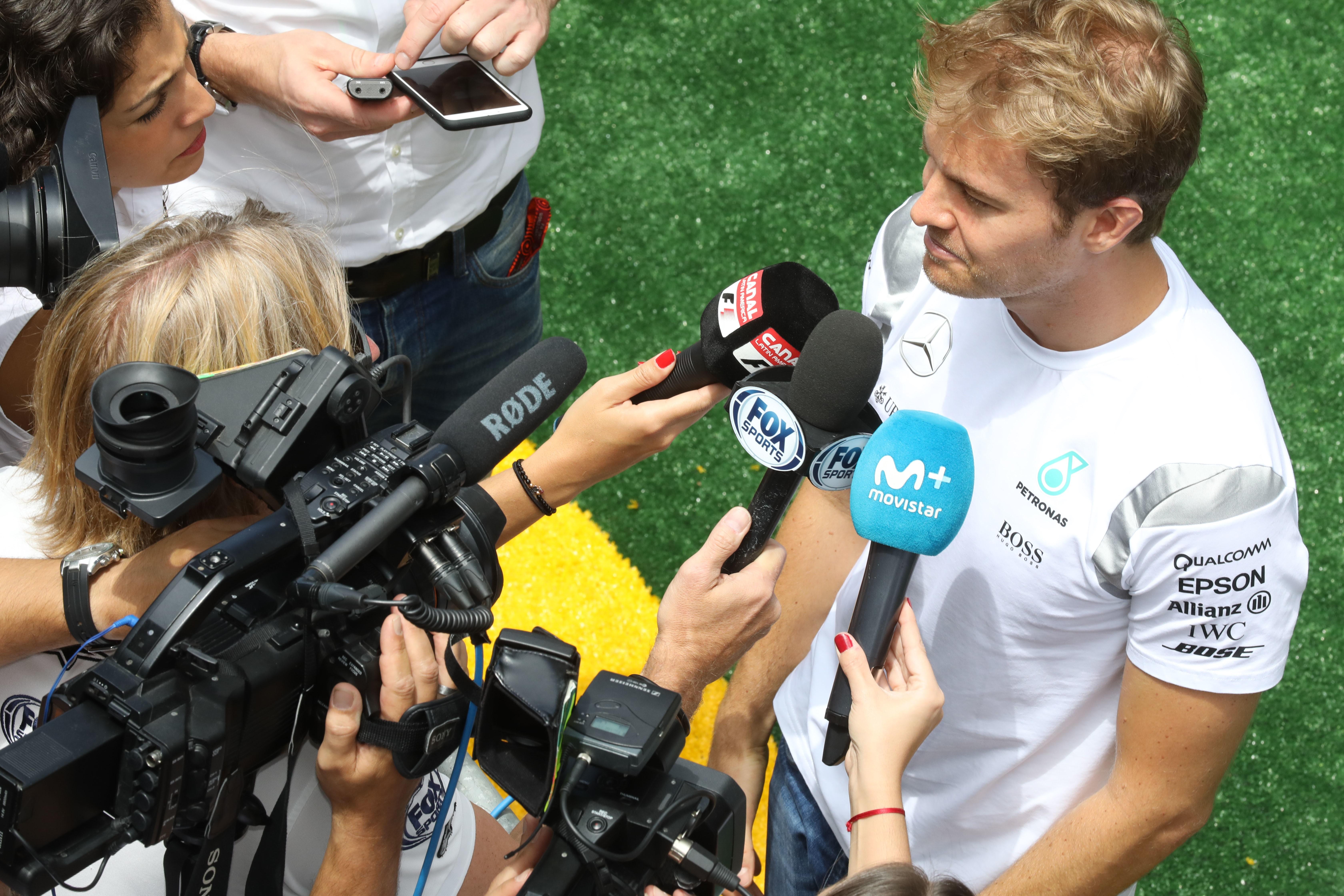 Nico Rosberg (Mercedes) au Grand Prix du Brésil 2016