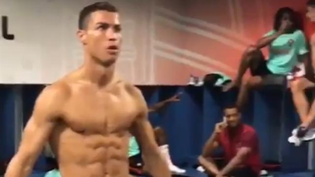 Mannequin Сhallenge сборной Португалии, в котором Роналду – альфа-самец
