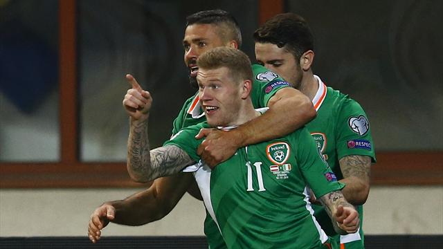 McClean strikes to sink Austria and send Ireland top of group