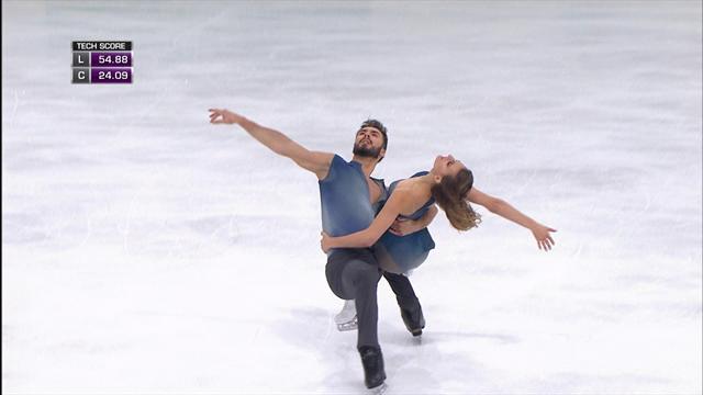 Papadakis and Cizeron win short dance free programme