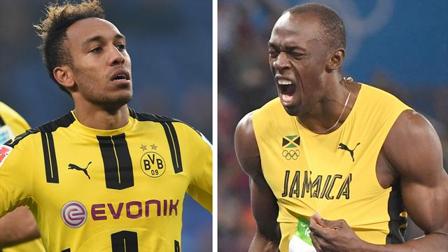 Bolt en guest star à l'entraînement du Borussia