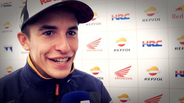 """Marquez : """"Depuis Valence, on sait que Viñales jouera le titre"""""""
