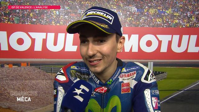 Lorenzo ends win drought in last Yamaha start