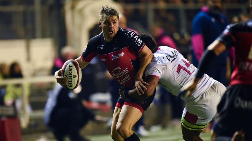 Drew Mitchell (Toulon) face au Stade français - 13 novembre 2016