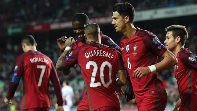 Portekiz, Quaresma resitaliyle güldü