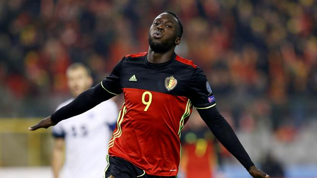Hazard, Lukaku lead the way as Belgium put eight past Estonia
