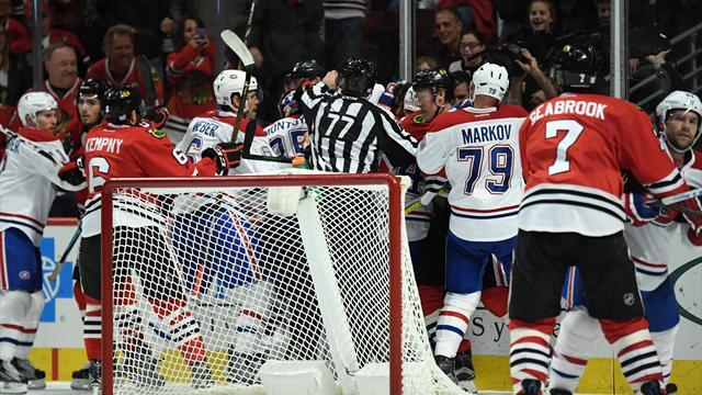 Марков, Радулов иЕмелин набрали по1 очку вматче НХЛ