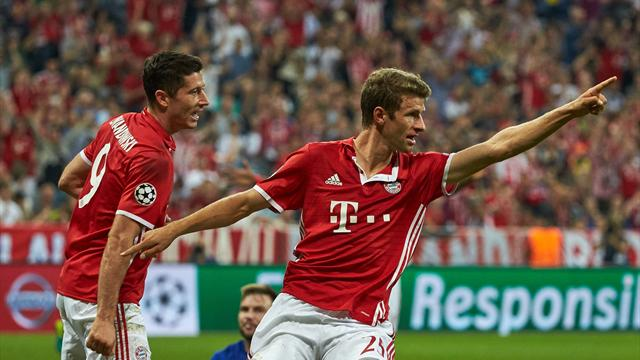 Lewandowski et Müller sont les joueurs les plus chers de Bundesliga