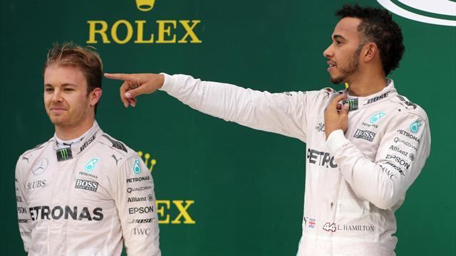 Hamilton'dan Rosberg'e gözdağı