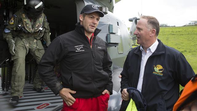 McCaw favori d'un sondage pour le poste de Premier ministre en Nouvelle-Zélande !