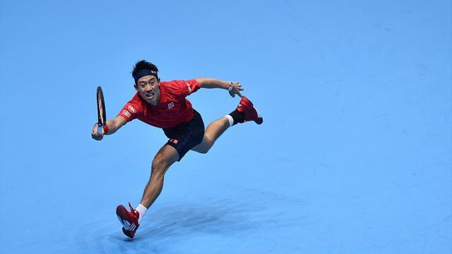Nishikori démarre pied au plancher