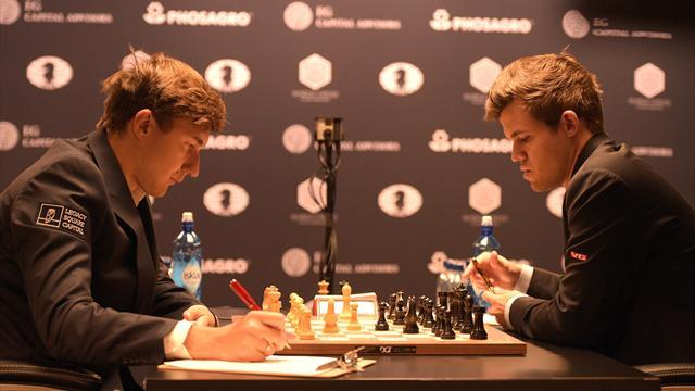 Карякин и Карлсен определят чемпиона мира на тай-брейке
